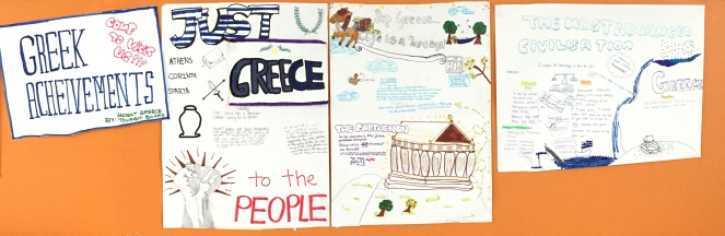 Achievements of Ancient Greece: Tourism Posters.